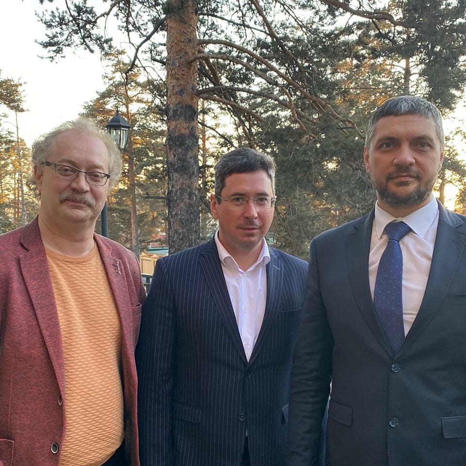 ГБУЗ «ЗККФПЦ» посетил известный врач Андрей Петрович Продеус.